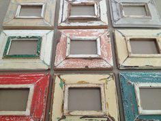 distressed picture frames - Google Search