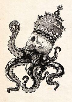 Octopus on Behance