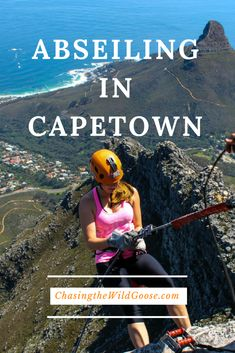 Things to do in Capetown| Abseiling Table Mountain| Table Mountain | Things to do in South Africa| Hiking Table Mountain