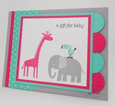 Swish and Stamp: A Gift for Baby