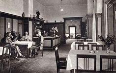 Restauracja i Hotel Dom Mieszczański Dom, Retro, Retro Illustration