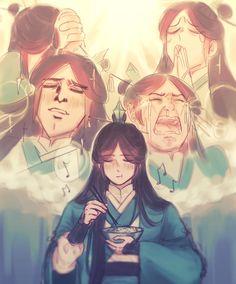 Manhwa, Mini Comic, Drawing Reference Poses, Cute Chibi, The Grandmaster, Ancient China, Light Novel, Chinese Art, Funny People