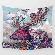 King Animal Tapestry