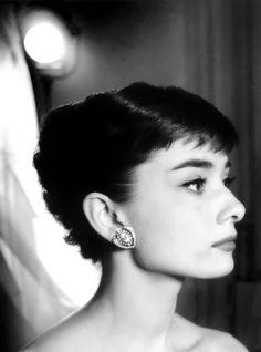 Audrey Hepburn, 1957. Photo: Bud Fraker.