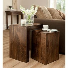 Goa Nest of Tables | Coffee & Side Tables | George at ASDA