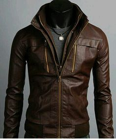 ive always loved leather jackets cuz its uniqe and stylish