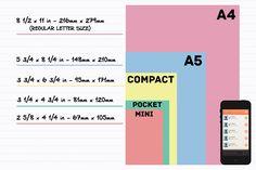 Filofax 101: Planner Paper Sizes