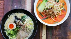 New Opening: Ramen Takara - A popular Ramen restaurant has opened its second outpost in Ponsonby. Ramen Restaurant, Places To Eat, Thai Red Curry, Restaurants, Popular, Auckland, Hospitality, Ethnic Recipes, Architecture