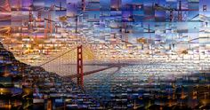 Emirates 'New Perspective' campaign - San Francisco, USA