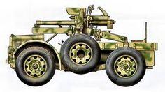 Autocannone Sahariana Corta da 75/27