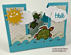 Card using products from Sizzix and The Stamps of Life