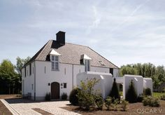 oscar v keerbergen French Country House, Country Style, Country Homes, Belgian Style, Beautiful Homes, Gazebo, Building A House, Architecture Design, Sweet Home