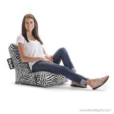 Terrific 16 Best Zebra Print Bean Bags Images Bean Bag Chair Frankydiablos Diy Chair Ideas Frankydiabloscom