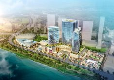 Caesars Korea Casino Resort to Open 2021 First Asian Venue for Gaming Giant Luxury Restaurant, South Korea, Gaming, Asian, Architecture, City, Building, Blog, Travel