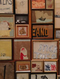 Barry McGee Awesome Art, Cool Art, Barry Mcgee, Urban Art, Berry, Places To Go, Illustration Art, Bible, Holiday Decor