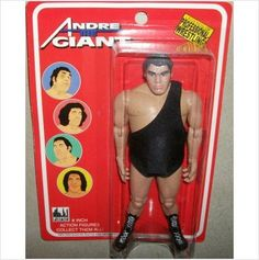 An action figure for the wrestler André the Giant, from the Haha Quotes, League Of Extraordinary, Weird Toys, Wwe Action Figures, Andre The Giant, Old School Toys, Wrestling Superstars, Hulk Hogan, Childhood Days