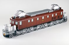 Locomotive: JR West  r EF52 1 No. electric locomotives (Free)  Difficulty: Intermediate In the first domestic large electric locomotive in 1928 was born in cooperation at the time of the Ministry of Railways and the four private companies, it has been used, such as the express train of the Tokaido Line.