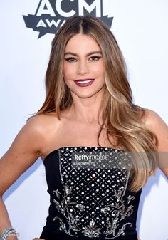 Actress Sofia Vergara attends the 50th Academy of Country Music Awards at AT&T Stadium on April 19, 2015 in Arlington, Texas.