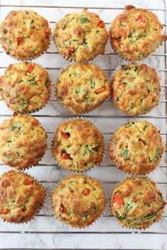 4 recipes for salty muffins that you will like very much - Pequeocio - Salty muffins, kid-proof vegetables! How to make salty vegetable muffins. Salty muffin recipe, a gr - Spinach Muffins, Savory Muffins, Cheese Muffins, Healthy Muffins, Savory Snacks, Savoury Muffin Recipe, Savoury Muffins Vegetarian, Savoury Vegetable Muffins, Vegetable Snacks