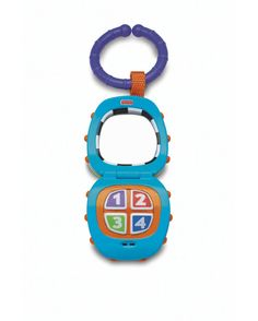 Little dude had this Fisher Price phone too, it was one of the many toys we hung on his play mat and bouncer!
