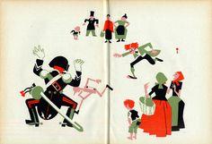 """Carlo Collodi, """"Le avventure di Pinocchio"""", Firenze, Marzocco, 1942, 246 p., illustrato da Piero Bernardini."""