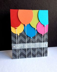 Creative Ideas For Homemade Birthday Cards - Site About Craft