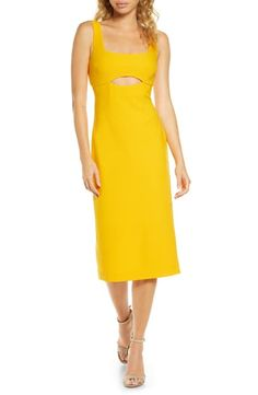 online shopping for Finders Keepers Nadia Cutout Midi Dress from top store. See new offer for Finders Keepers Nadia Cutout Midi Dress
