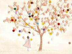 さくら Pastel Colors, Illustration, Artwork, Pastel Colours, Work Of Art, Auguste Rodin Artwork, Artworks, Illustrations, Candy Colors