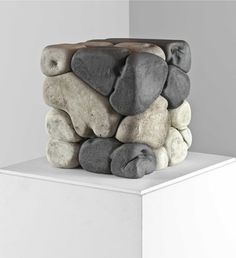Milanese gallery HangarBicocca's ambitious new exhibition programme Geometric Sculpture, Abstract Sculpture, Sculpture Art, Concrete Art, Concrete Design, Damian Ortega, Art Cube, Mosaic Madness, Mexica