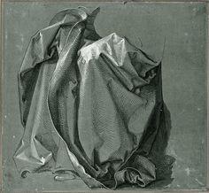 Albrecht Dürer 'Garment study: Robes of God the Father' 1508 (study for the 'Heller Altar')