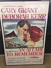 """Original """"An Affair To Remember"""" National Screen Service Manufactured Poster - AFFAIR, Manufactured, National, ORIGINAL, Poster, Remember, Screen, Service"""