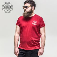 cef42a70c52 GELISEN 2015 Brand Fashion Men s Large Size T-shirt Big And Tall Style