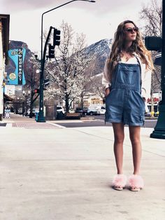 With a burgeoning acting career and an enviable personal style, it's no surprise that Imogen Waterhouse has been heralded as the next It girl to watch. Imogen Waterhouse, Make A Case, Spring Shoes, Ugg Shoes, Overall Shorts, Uggs, Celebrity Style, Personal Style, Overalls