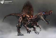 「トランスフォーマー/ロストエイジ」恐竜型ロボット、ダイノボットのコンセプトアート