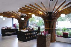 Pharmacy designed by Voyatzoglou Systems Located@Glyfada, R.Dirxalidou