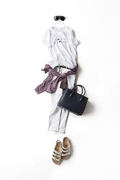 Kyoko Kikuchi's Closet | 今好きなTシャツのコーデ