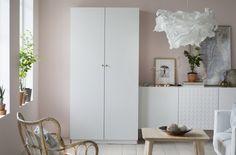 De sonho (mas bem real).  #arrumação #decoração #roupeiros #IKEAPortugal
