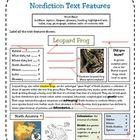 $1.99 Nonfiction Text Features Assessment