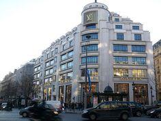 Shop the Champs Elysses Louie Vutton