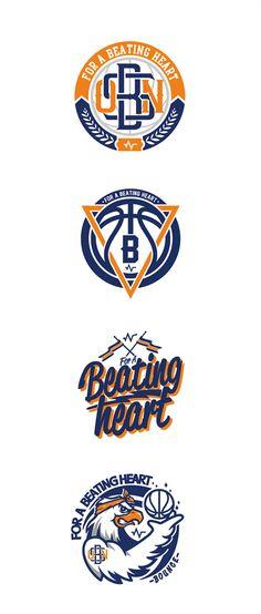 For beating heart by monkey ben via behance logo shapes mascot design also fang ruengvisesh fang Kobe Logo, Basketball Logo Design, Sports Team Logos, Logo Images, Logo Inspiration, Logo Branding, Behance, Heart, Monkey