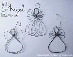 Wire Angel Ornaments......