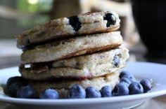 Spelt Blueberry Pancakes  From Rip