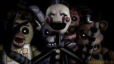 REVENGE by TheGoldenRob on DeviantArt Freddy 's, Fnaf 1, Freddy Fazbear, Sister Location, Five Nights At Freddy's, Revenge, Puppets, Deviantart, 3d