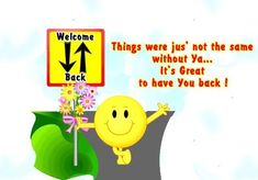 welcome back images   Welcome Back Sawera : Greetings, Wishes