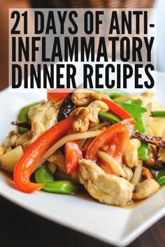 21 Day Anti Inflammatory Diet to Detox and Reduce Inflammation 21 Day Anti Inflammatory Diet Help boost your immune system and keep your autoimmune disease under control 21 Day Meal Plan, Keto Meal Plan, Diet Meal Plans, Clean Meal Plan, Gout Recipes, Healthy Recipes, Snack Recipes, Keto Recipes, Crohns Recipes