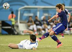 Yuya Osako, FIFA World Cup Brazil, 2014.6.19