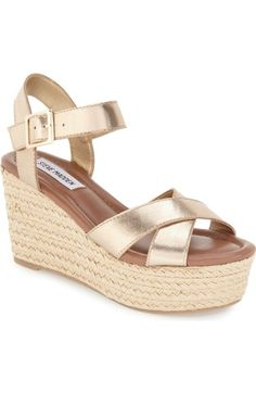 ea7a4eb33632 Steve Madden  Surfbrd  Espadrille Wedge Sandal (Women) available at   Nordstrom