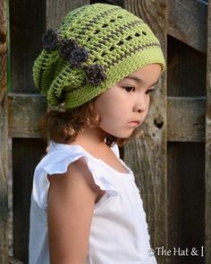 Woodland Slouchy (Toddler/Child/Adult) pattern on Craftsy.com