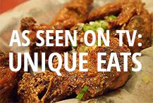 Restaurants featured on the Cooking Channel's show, Unique Eats. Includes major U.S. cities and Montreal.