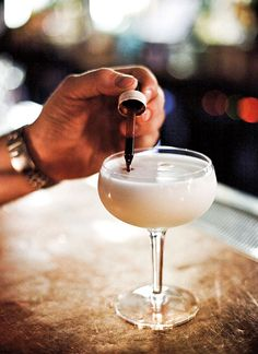 Pisco Sour: This frothy spur off the sour family tree has roots in both America and Peru. The story goes that American-born Victor Morris moved to Peru to work on the railroads but ended up opening a bar instead.
